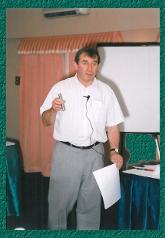 Paul Loftus presenting